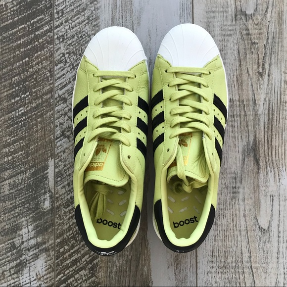 093a0de0d5e adidas Other - Men s Adidas Bliss Lime Superstars..NWOT